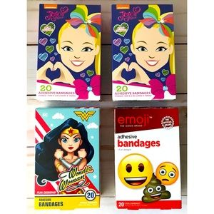Character Bandages 4 boxes